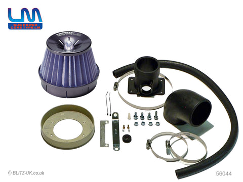 Blitz LM Power Induction Kit - Blue - 56044 - Supra JZA80 2JZ-GTE - Not VVTi