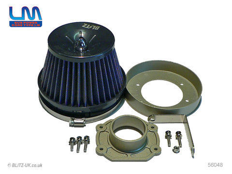 Blitz LM Induction Kit - Blue - 56048 - Starlet Turbo EP91