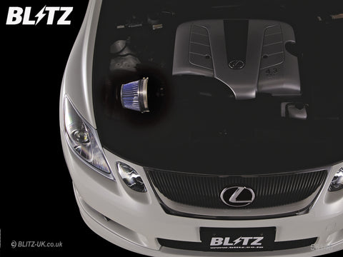 Blitz LM Power Induction Kit - Blue - 56145 - Lexus GS430 UZS190
