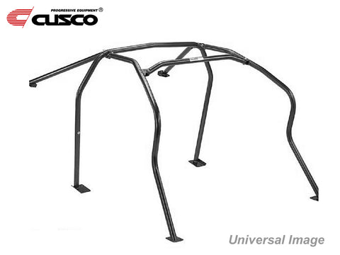 Roll Cage - Cusco 6 Point - Avoid Dash - No Sunroof - AE101 Coupe