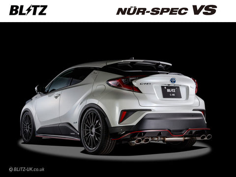 Blitz Nur Spec VS Exhaust System - 63536 - Toyota C-HR 1.2 Turbo - 4WD