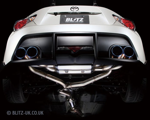 Blitz Aero Speed - GT86 & BRZ - Rear Diffuser - 60155