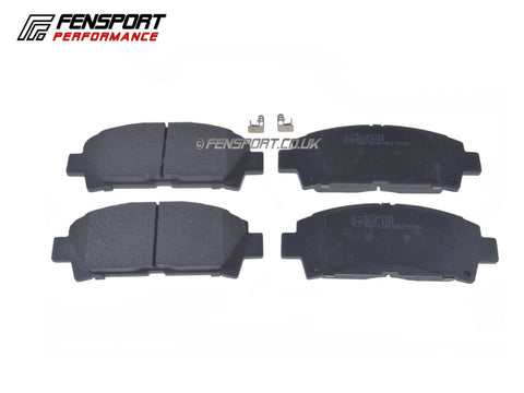 Brake Pads - Front - Celica Import ST202 with Super Strut  & Twin Piston Caliper