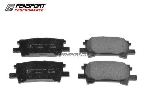 Brake Pads - Rear - Lexus RX400h