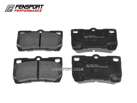 Brake Pads - Rear - Lexus IS200D, IS220D, IS250 GSE20