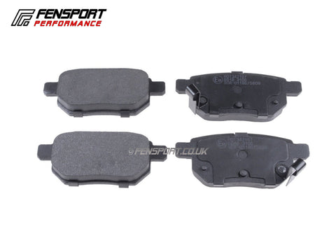 Brake Pads - Rear - iQ, CT200h, Yaris 1.8 Sport (Japan)