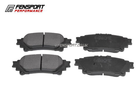 Brake Pads - Rear - Lexus IS300h, IS250, RX450