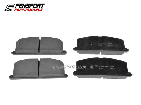 Brake Pads - Front - Corolla AE82, MR2 Mk1, Starlet Turbo