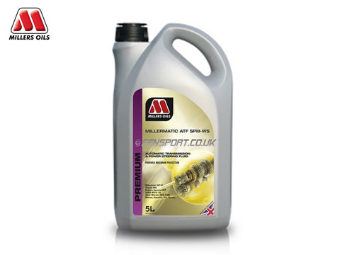 Millers Millermatic - Automatic Transmission Fluid - SP111-WS - 5 Litre