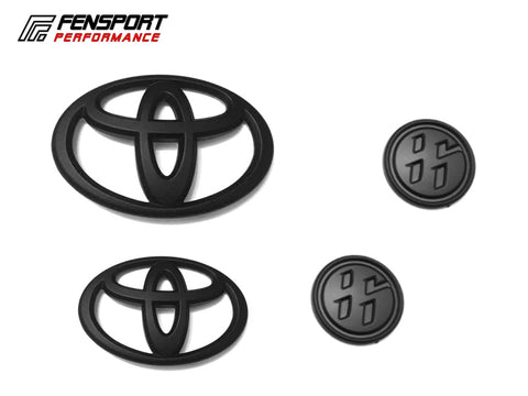 Emblem Badge - Set 1 - Black - GT86 2017 On