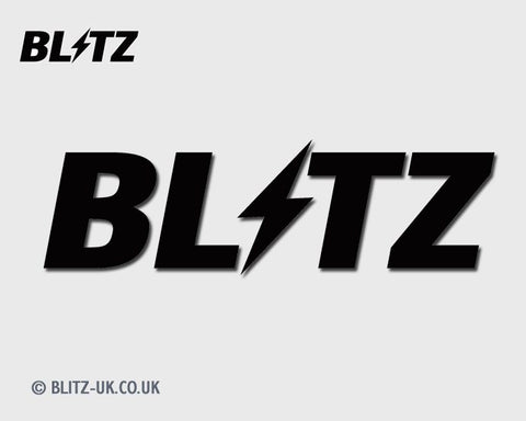 Blitz Sticker 100mm Black - Blitz 18513