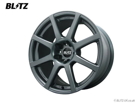 Blitz BRW 08 Alloy Wheel Set - 18x8 - ET38 - 5x100 - Black-Matt-Blue