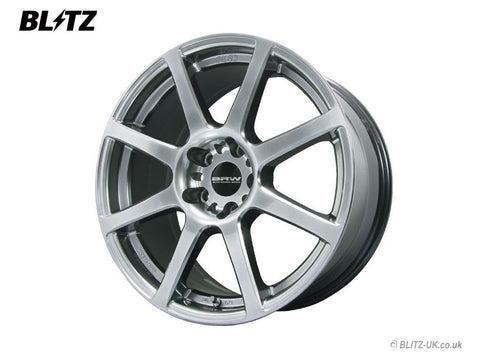 Blitz Alloy Wheel Set Brw 08 - 18x8 - ET38 - 5x100 - Metal Silver