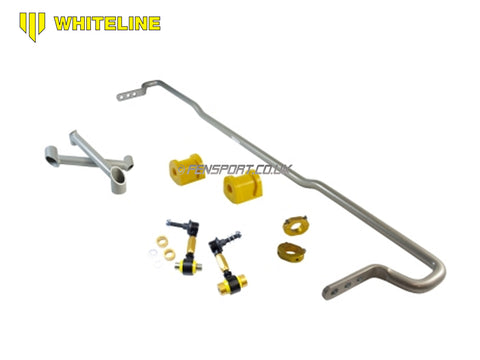 Whiteline Anti Roll Bar - Rear 18mm - with Droplinks -  Adjustable - GT86 & BRZ