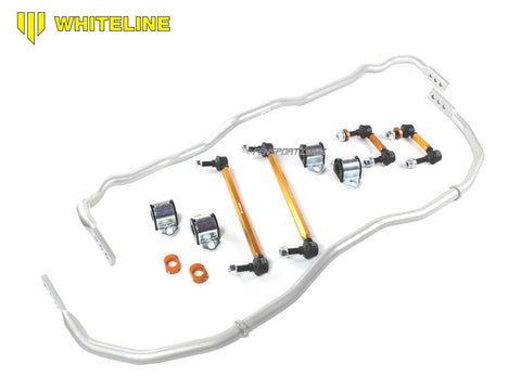 Whiteline Anti Roll Bar Kit - Front & Rear 24mm - 3 Point Adjustable - GR Yaris