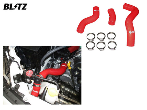 Blitz Silicone Radiator Hose Kit - Red - 18881 - GT86 & BRZ