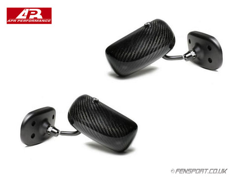APR Carbon Fibre Formula 3 Mirrors - Black - GT86 & BRZ