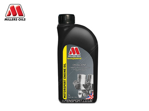 Millers - NanoDrive Fully Synthetic Engine Oil With Nano Tech - CFS 0w30 NT - 1 Litre