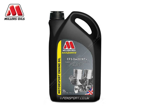 Millers - NanoDrive Fully Synthetic Engine Oil With Nano Tec - CFS 0w20 NT+ - 5 Litre