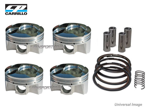 Forged Piston Kit - CP 9.0:1 Compression Ratio - 4AGE & 4AGZE 16V