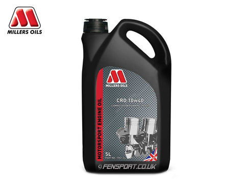 Millers - Running in Engine Oil - CRO 10w40 - 5 Litre