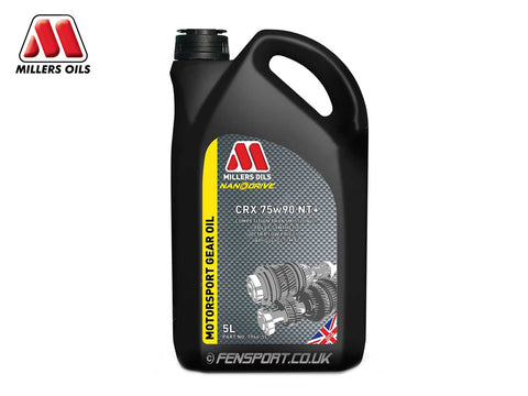 Millers Gear Oil With LSD Additive - CRX LS 75w90 NT+ - 5 Litre