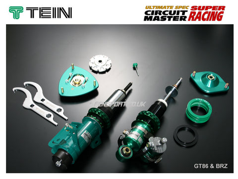 Coilover Kit - Tein Super Racing - GT86 & BRZ