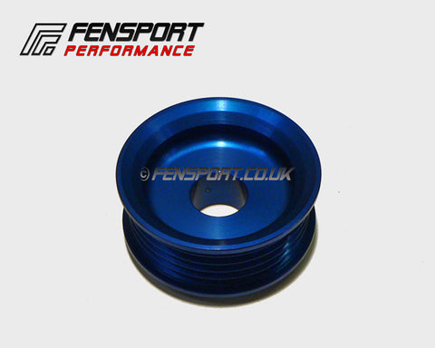 Lightweight Alloy - Alternator Pulley - Blue - Starlet, Paseo, Cynos with 4E-F# Engine