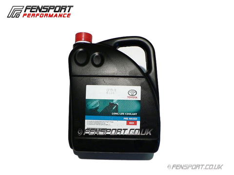 Toyota Forlife Coolant - Red - 5 Litre