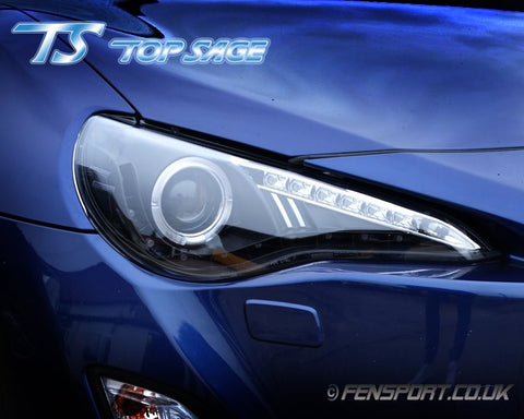 Top Sage Headlights - Black - GT86 & BRZ