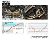 HKS Exhaust Manifold - Equal length - No Cat - GT86 & BRZ