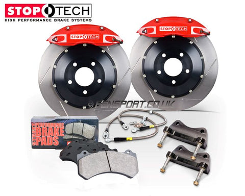 Brake Kit - Front - Stoptech - 328mm - Red Calipers - GT86 & BRZ