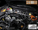 Summit Front Strut Tower Brace - Graphite - 2 Point with Brake Stopper - GT86 & BRZ