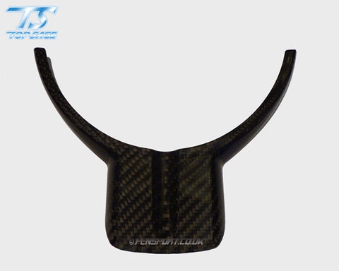 Carbon Steering Wheel Trim Cover - No Hole - GT86 & BRZ