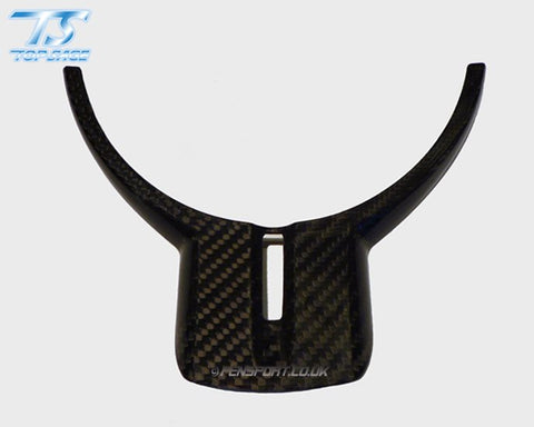 Carbon Steering Wheel Trim Cover - With Hole - GT86 & BRZ