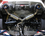 Injen Stainless Steel Exhaust - Titanium Tailpipes - GT86 & BRZ