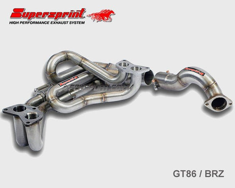 Supersprint Exhaust Manifold - GT86 & BRZ