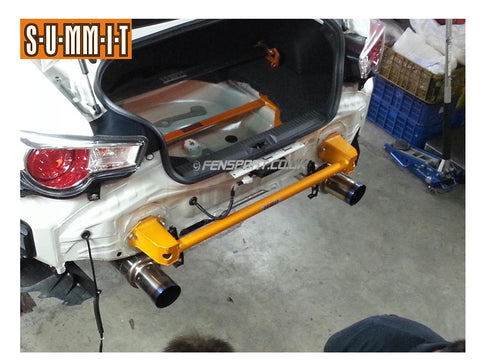 Summit Rear Chassis Brace - Alloy Bumper Bar - GT86 & BRZ