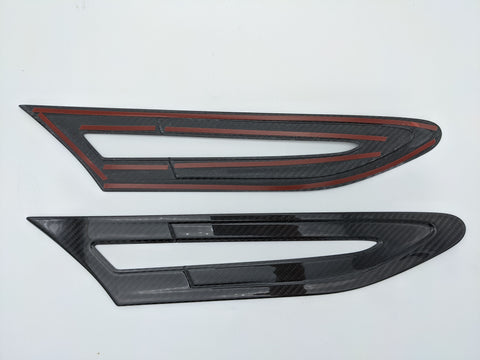 Top Sage Type 2 Carbon Fibre Grill Vent Covers - Pair - GT86 & BRZ