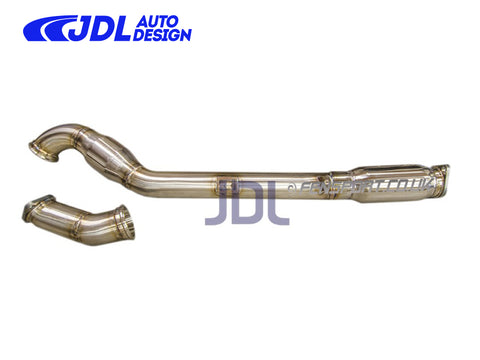 "JDL 2.5"" Over Pipe / Front Pipe Combo - Double Resonated - GT86 & BRZ - LHD ONLY"