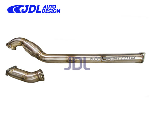 "JDL 2.5"" Over Pipe / Front Pipe Combo - Single Resonator - GT86 & BRZ - LHD ONLY"