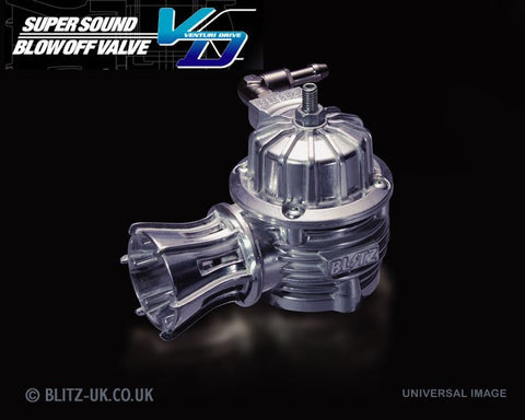 Blitz VD Polished Dump Valve Kit - 70144 - Supra JZA80, Aristo JZS161