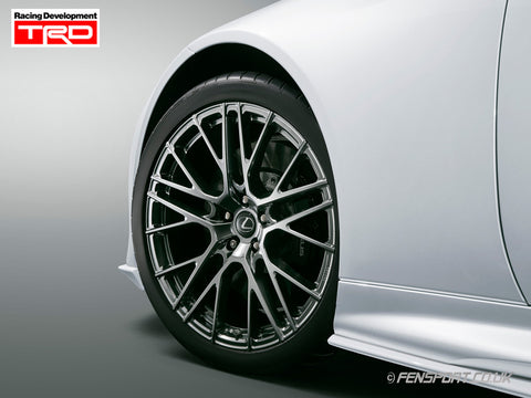 TRD 21 Inch Forged alloy wheel Set - With Nut Set  - Lexus LC