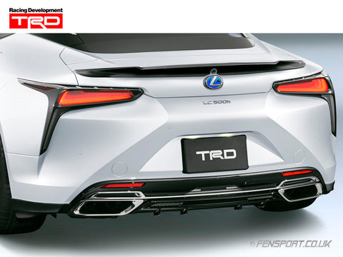 TRD Rear Diffuser & Rear Side Spoiler - Various Colours - Lexus LC500