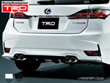 TRD - Rear Diffuser - Not Painted - Lexus CT200h