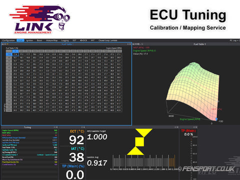 Mapping & Tuning - Link ECU