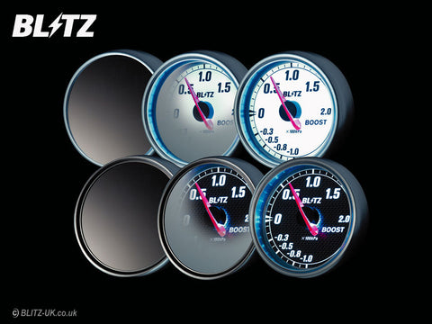 Blitz MD Vacuum Gauge - White - 19459