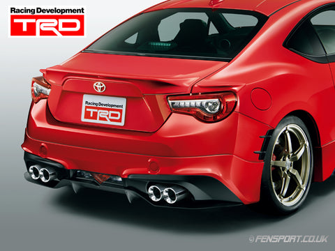 V2 TRD High Response Muffler Version R - GT86