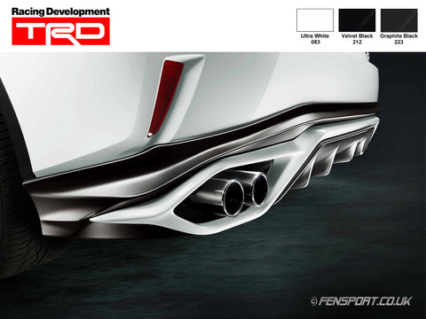 TRD - Sports Exhaust - Rear Silencer - Lexus RX200t