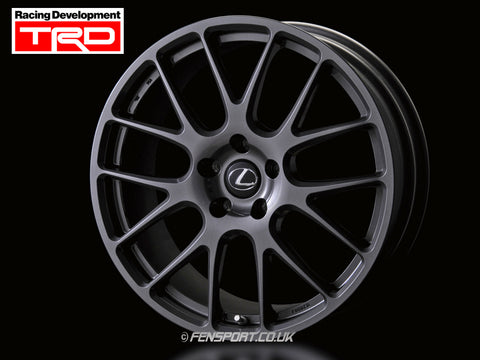TRD 19 Inch Wheel Set - With Nut Set - Lexus IS, RC, GS